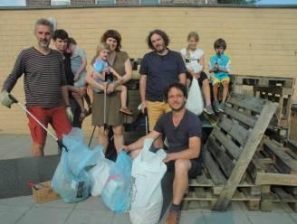 """Groen Horebeke ging op tocht om zwerfvuil te verzamelen op World Cleanup Day: """"Voor een landelijke gemeente is de buit te groot"""""""
