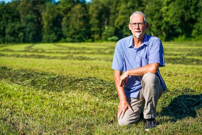 """Frans van Berkel van de Dorpsraad Lage Mierde: ,,Wij willen graag meer beleving in het groen in de nabijheid van de dorpskern."""""""