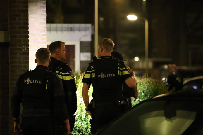 De politie deed vannacht een inval bij een illegaal gokfeest.