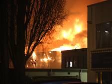 Brandweer vindt asbest bij Shurgard, maar niet in de omgeving