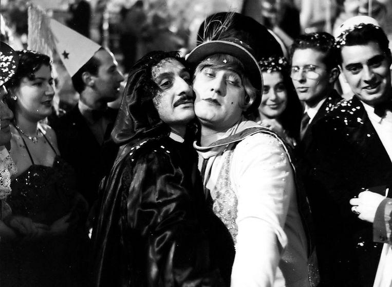 Franco Interlenghi en Alberto Sordi in 'I vitelloni'. Beeld FRANCE TELEVISIONS