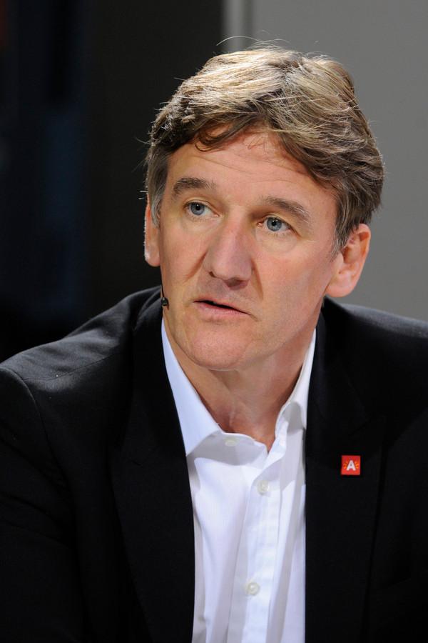 Patrick Janssens (sp.a), burgemeester van Antwerpen.