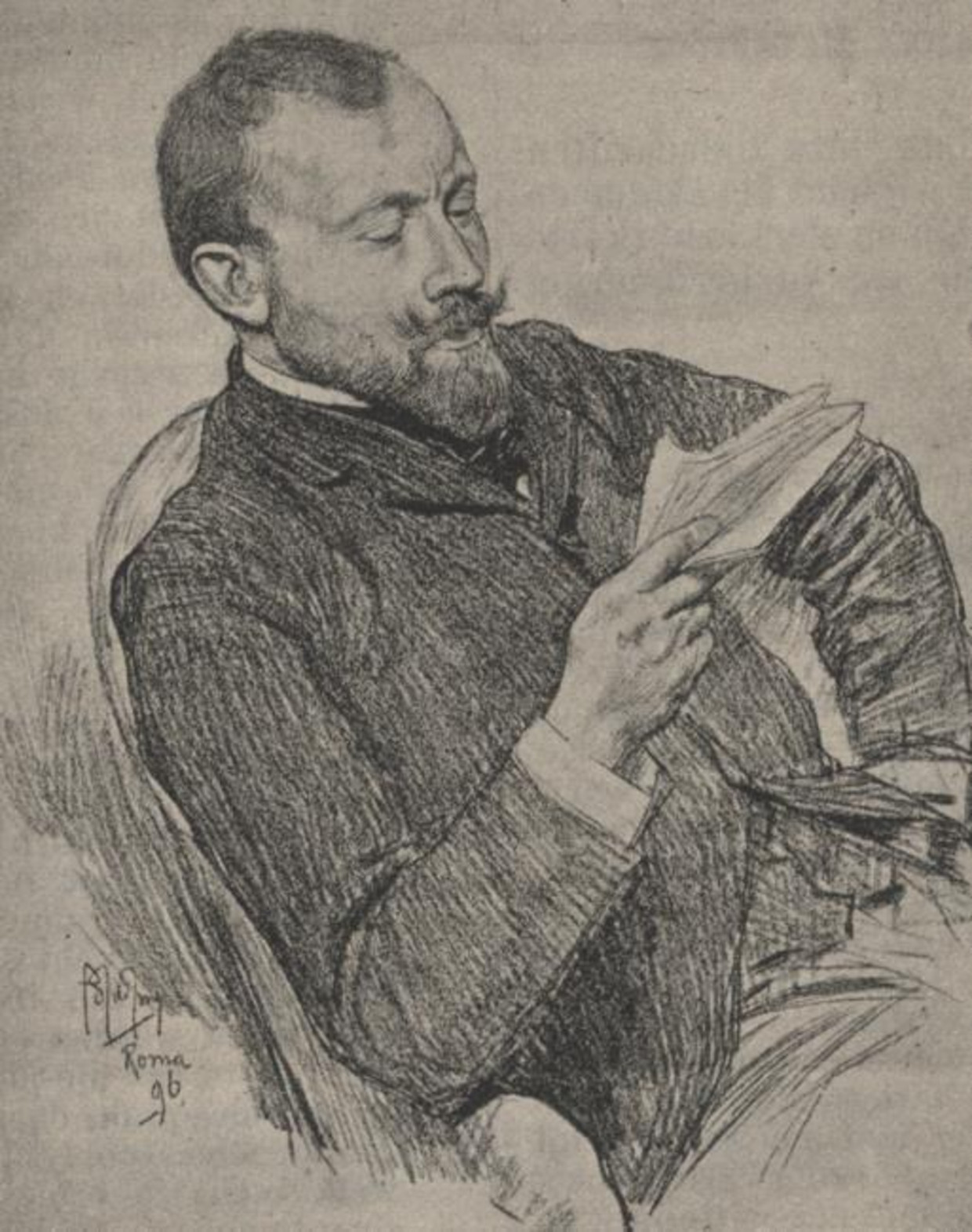 Portret van Maurits Karel Herman Wagenvoort (1859-1944).