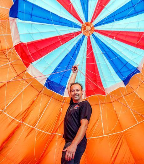 Roy (32) maakt 100 ballonvaarten per jaar: 'Mooiste vak dat er is, die rust is onbeschrijflijk'