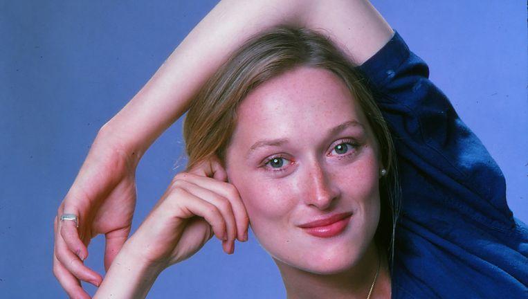 Meryl Streep in 1976. Beeld Getty Images