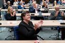 Ina Adema, commissaris van de Koning in Brabant. De provincie krijgt geld van Europese fondsen.