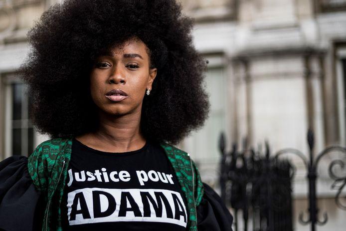 Assa Traoré, la soeur d'Adama Traore