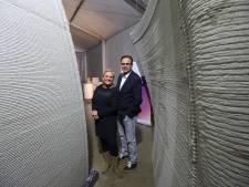 Droom komt uit in Teuge: eerste 3D-geprinte pand van Europa krijgt vorm