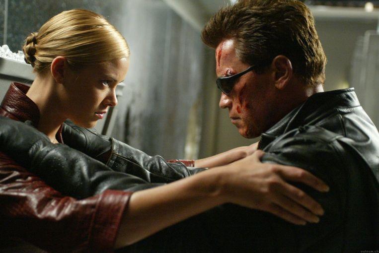 Arnold Schwarzenegger in Terminator 3: Rise of the Machines (2003) Beeld C-2 Pictures