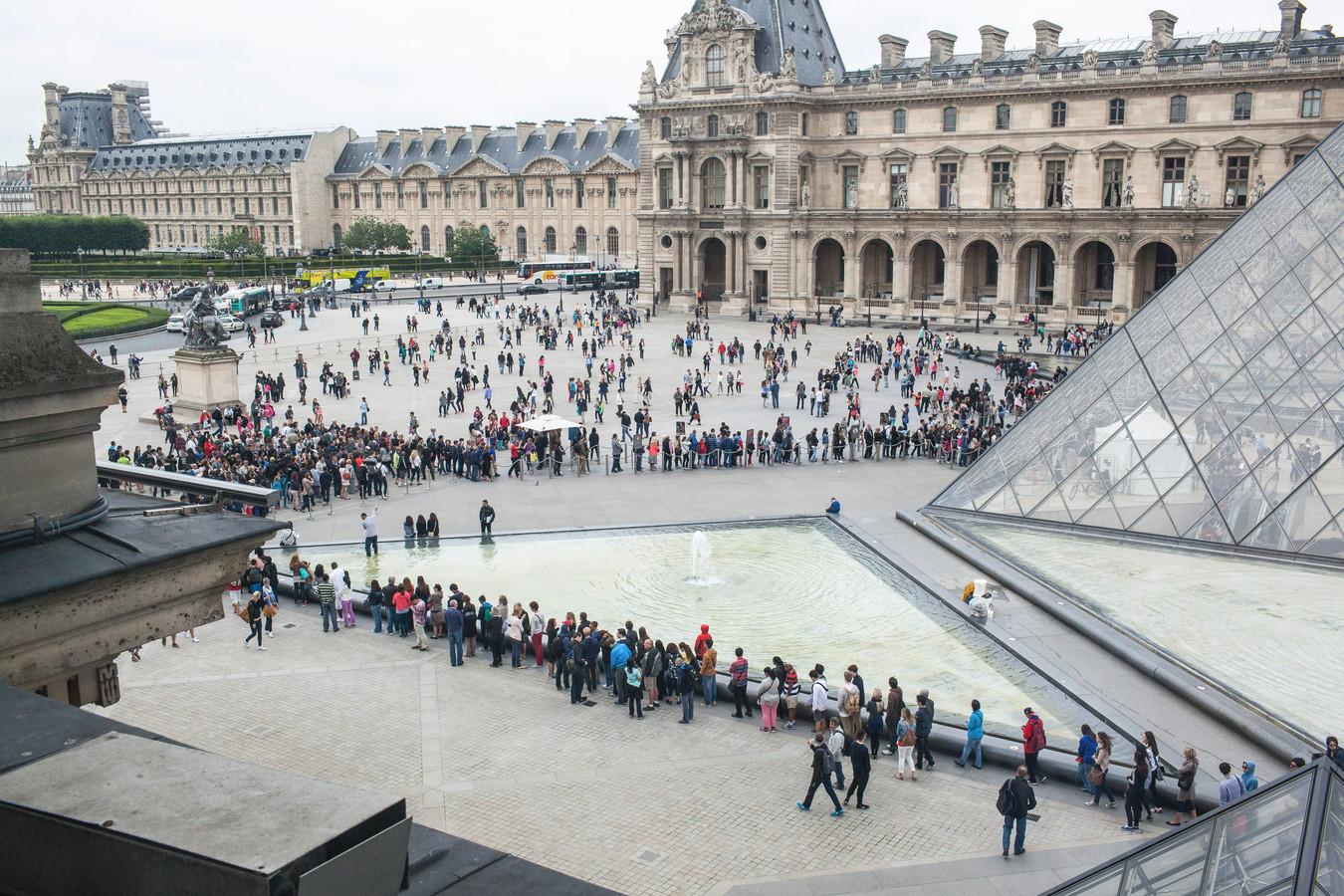 Het Louvre in Parijs.