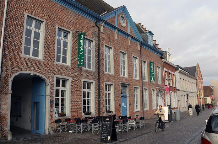 't Schaliken is gelegen op de Grote Markt in Herentals