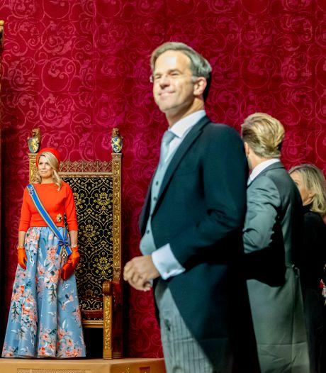 Ondanks alles houdt Rutte de moed er in: 'Persoonlijke verhoudingen zijn goed'