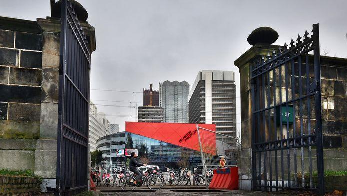 Uitzicht op het Spuiplein in Den Haag.