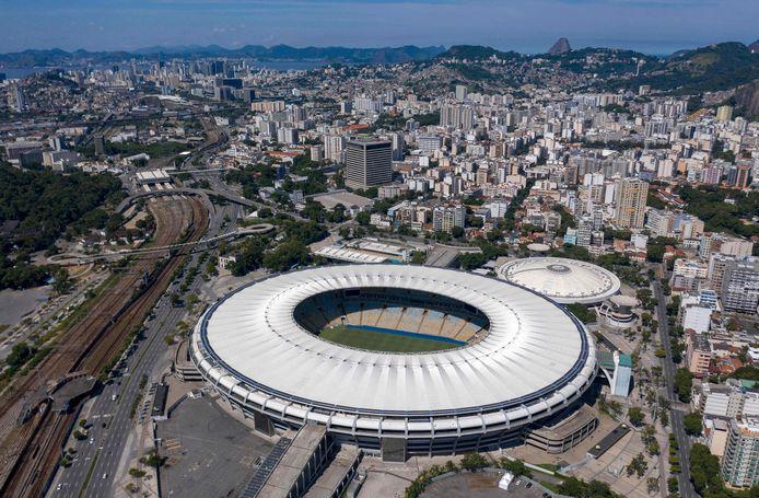 Het Maracanã stadion in Rio de Janeiro.