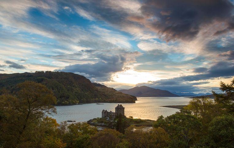 Loch Lomond in Schotland. Beeld getty images