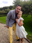 Yarick met zijn zusje