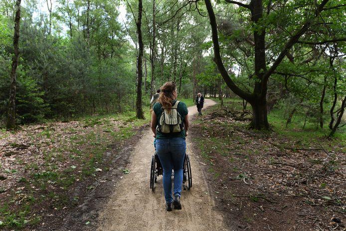 Leersum heeft wandelroutes zonder drempels. Foto ter illustratie.