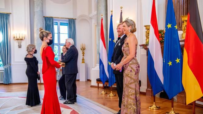 Sylvie Meis blikt terug op ontmoeting met koningspaar: 'Ik voel me vereerd'