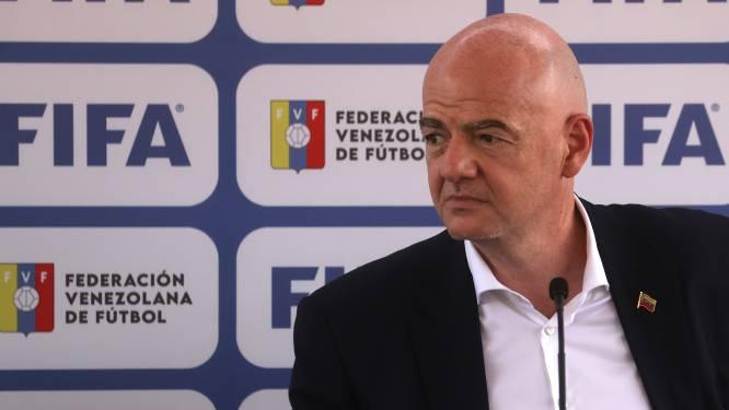 """FIFA-voorzitter Infantino duwt door voor tweejaarlijks WK voetbal: """"Verhoogt kans voor élk land om erbij te zijn"""""""