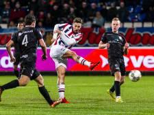 Scheidsrechter Rob Dieperink leidt PEC Zwolle - Willem II