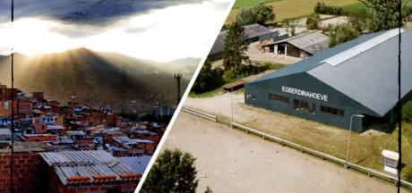 Hoe komt een Colombiaans drugskartel in Nijeveen terecht? Het antwoord lijkt simpel