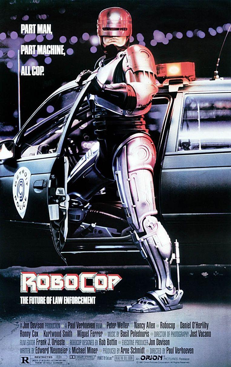 Filmposter van Robocop. Beeld