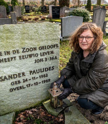 Moeder knokt voor behoud van graf zoon Sander: 'Waarom is deze ruiming nodig?'