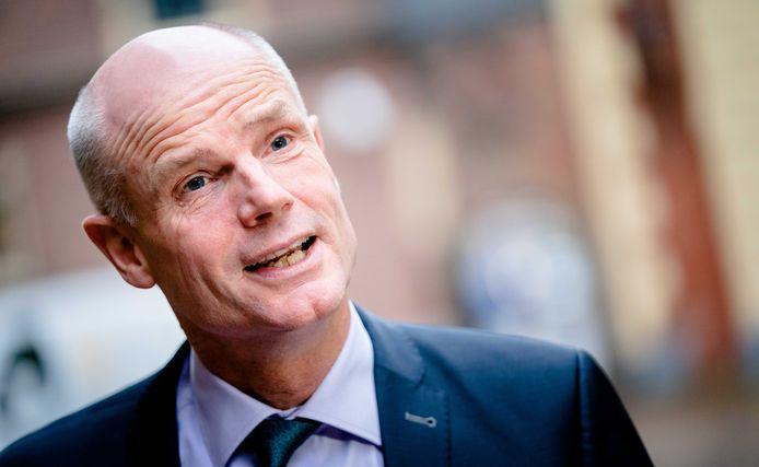 Demissionair minister Stef Blok van Economische Zaken en Klimaat (VVD).