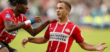 'Vrije' Mario Götze ziet dat het de goede kant opgaat met PSV: 'Groot voordeel dat we voor onze fans spelen'