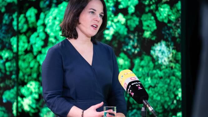 """Duitse Groenen met afstand grootste partij in peiling: """"Klap in het gezicht van Laschet"""""""