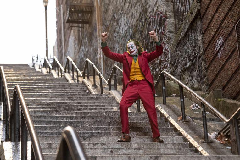 Joaquin Phoenix in 'Joker'. Beeld RV