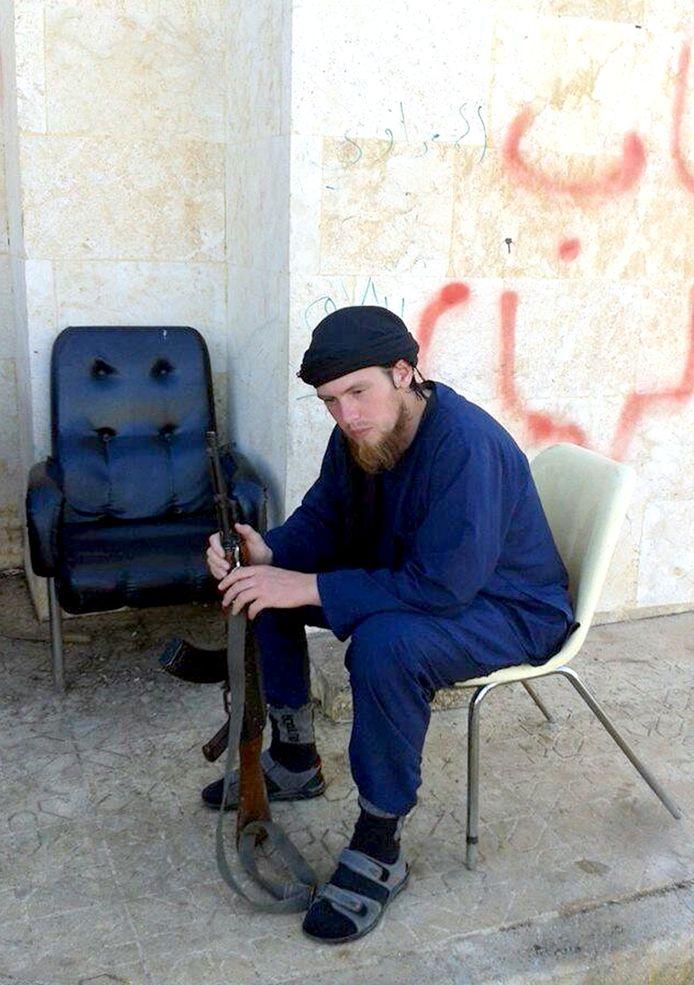 Jihadist Victor Droste.