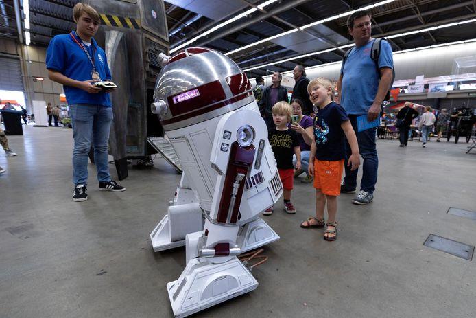 Voor het eerst werd de Maker Faire gehouden in het Beursgebouw in Eindhoven