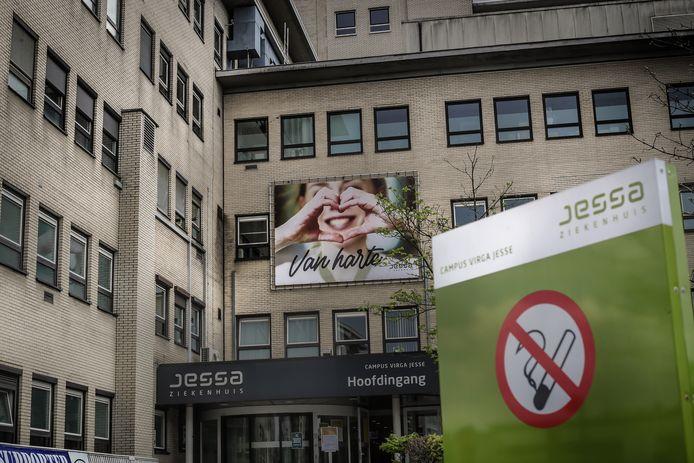 Het Jessa Ziekenhuis in Hasselt.