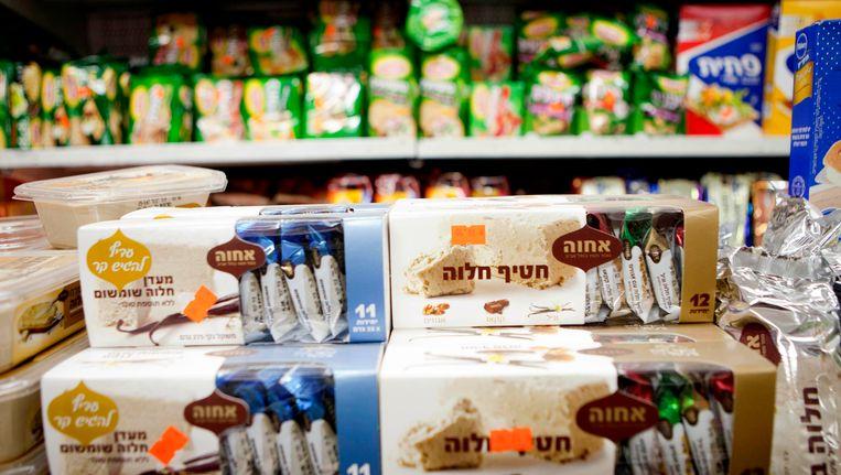Op producten die vervaardigd werden in de Gazastrook of op de Westelijke Jordaanoever moet voortaan niet meer vermeld worden dat ze van Israëlische origine zijn.