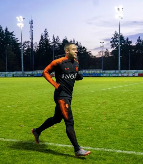 Oranje traint nog zonder Wijnaldum en Depay