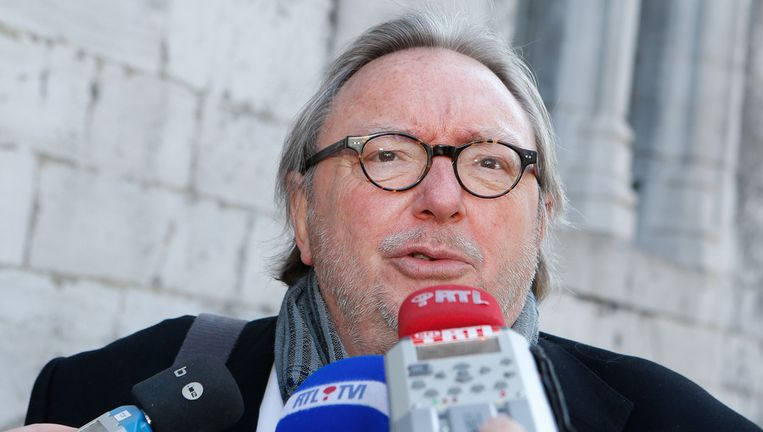 Oud-burgemeester van Charleroi Jean-Claude Van Cauwenberghe. Beeld BELGA