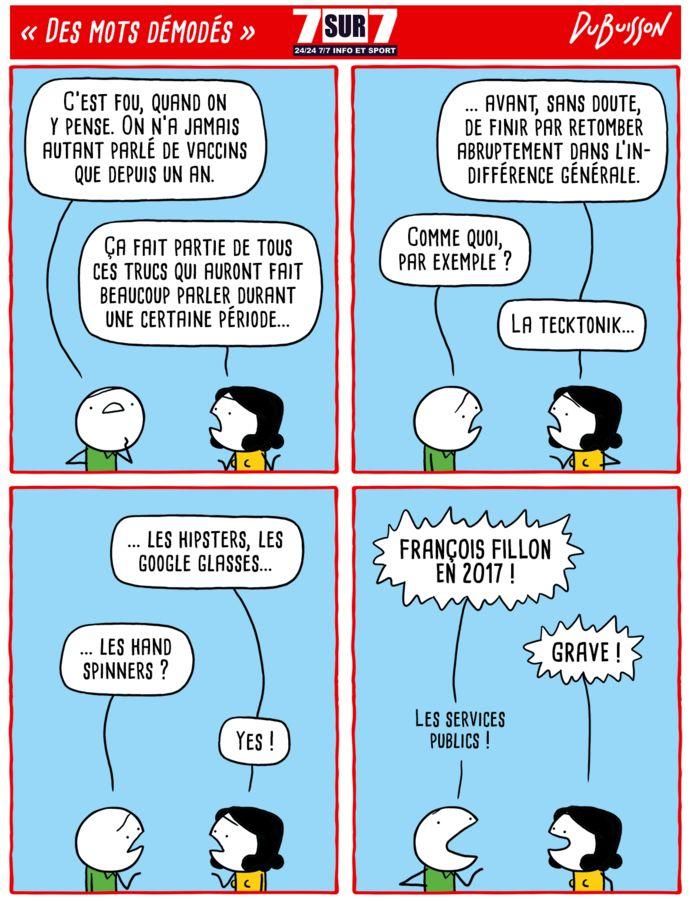"""""""Des mots démodés"""", 26 avril 2021."""