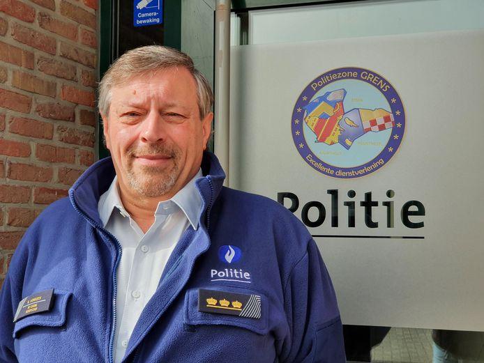Rudy Verbeeck, korpschef van de politiezone Grens (Kalmthout, Essen en Wuustwezel).