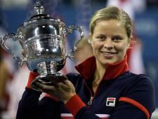 Kim Clijsters reporte son retour
