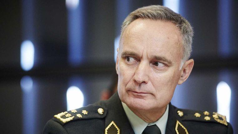 commandant der strijdkrachten Tom Middendorp. Beeld anp