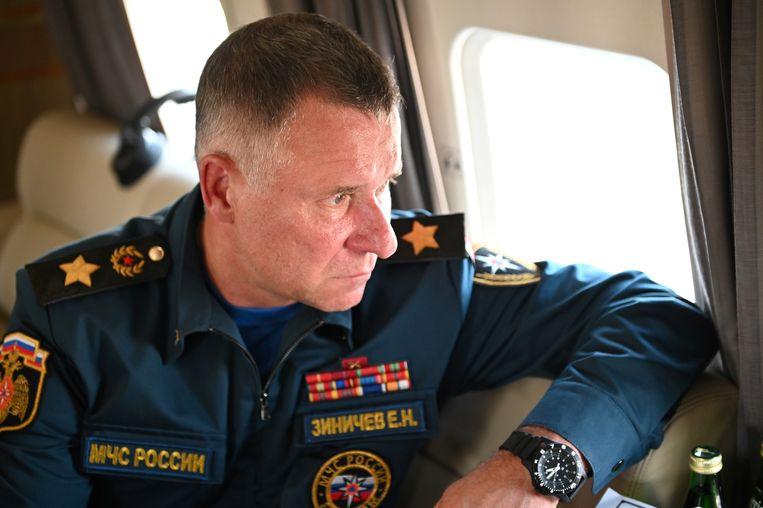 Jevgeni Zinitsjev zou zijn verongelukt toen hij iemand die uitgleed probeerde tegen te houden.  Beeld via REUTERS