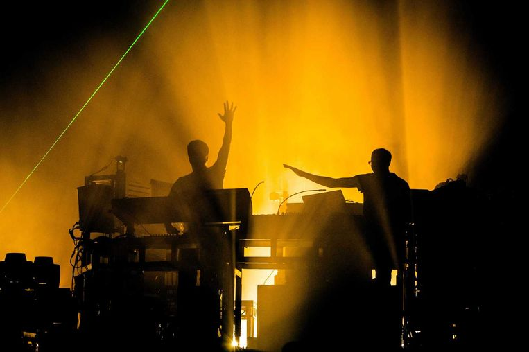 The Chemical Brothers. Beeld null