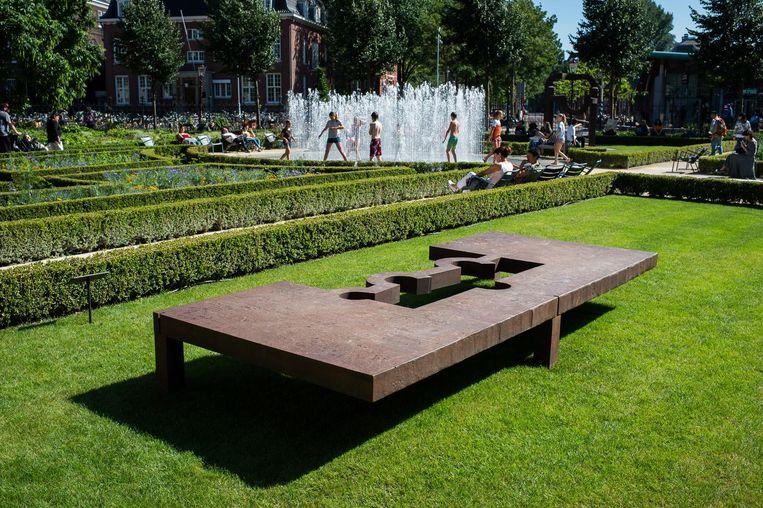 'Deze beelden hadden een plek nodig waar ze rustig konden roesten, vandaar dat park' Beeld Mats van Soolingen