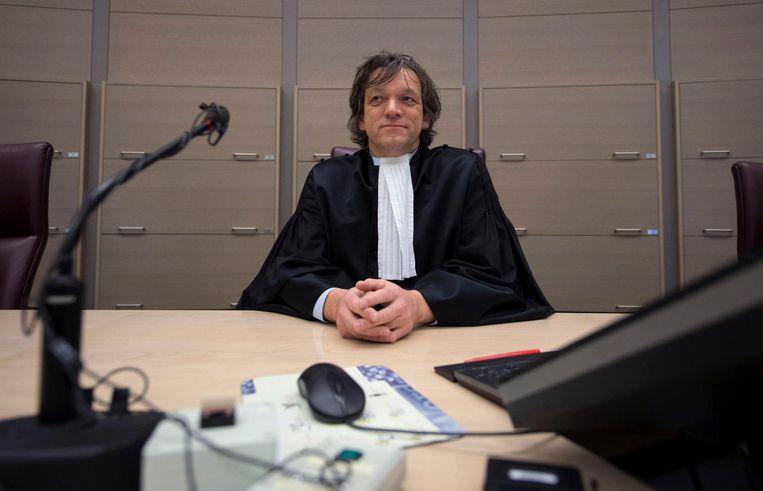 Voorzitter van de rechtbank J.H. Janssen. Beeld anp