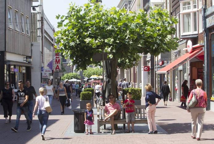 De Veestraat in Helmond.
