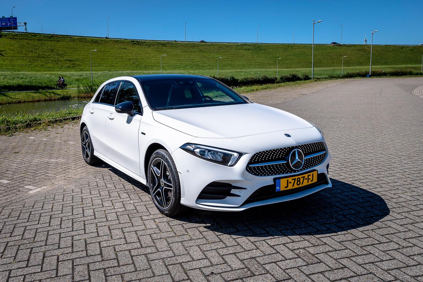 Nieuw: de Mercedes-Benz A-Klasse als plug-inhybride.