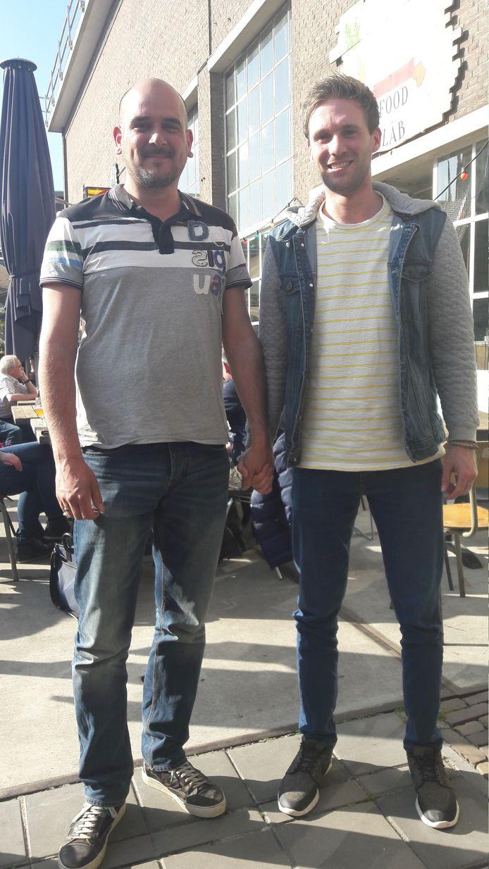 Mike Verdonk en Rob Bekers uit Eindhoven.