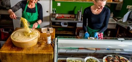 Verse pasta's en antipasti van Mangiare, waar wervelwind Aggy nog altijd zelf in de keuken staat