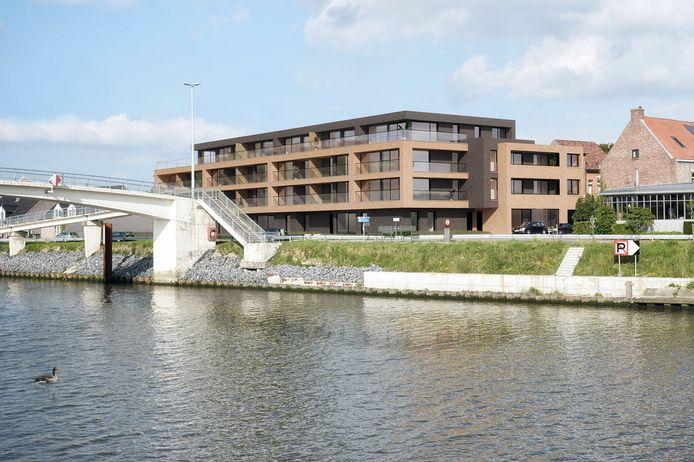 Residentie De Loveling komt op de hoek van Vaart Rechts en Lange Munt.